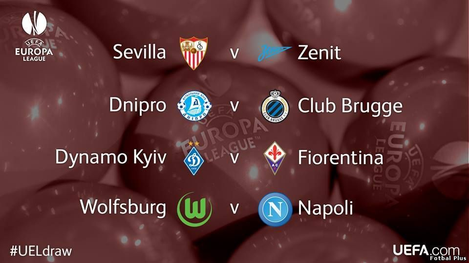 Sferturile Europa League