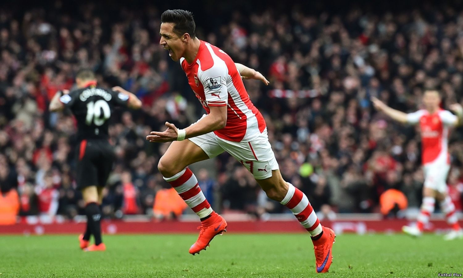 Arsenal invinge Liverpool cu 4-1